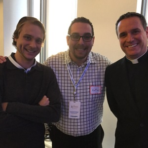 "With Brett Siddell & Father Dave Dwyer of ""The Busted Halo Show"""
