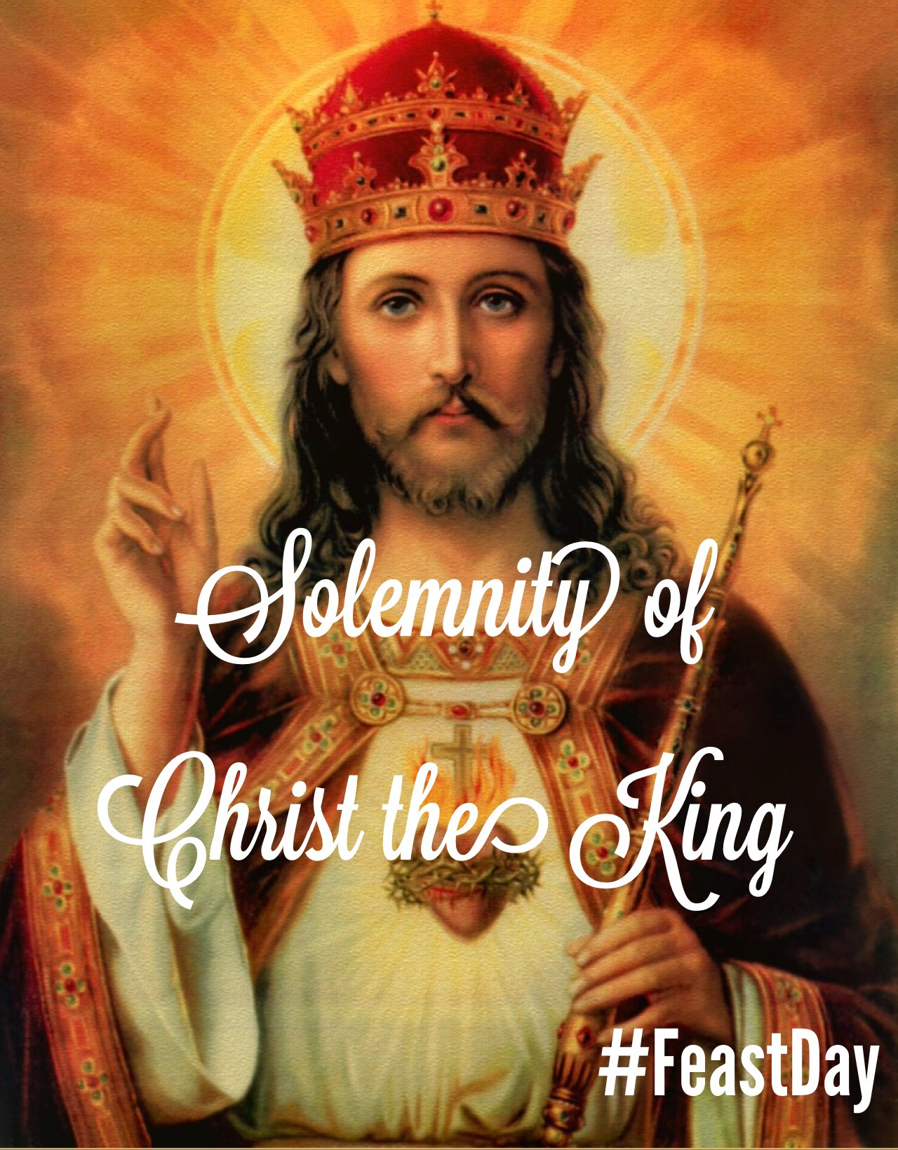 our lord jesus christ king of The gospel we proclaim shows the great mystery of our faith: in the moment of his crucifixion, jesus is shown to be king and savior of all luke's gospel has been loaded with surprises: the poor are rich, sinners find salvation, the kingdom of god is found in our midst.