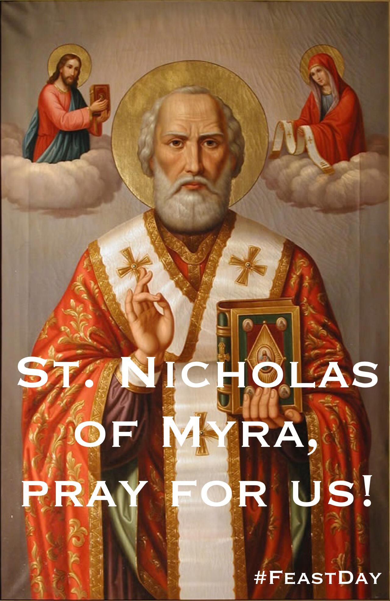 Who is st nicholas the patron saint of