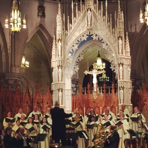The Cathedral Choir & Chamber Orchestra under the direction of John J. Miller (Director of Music Ministries)