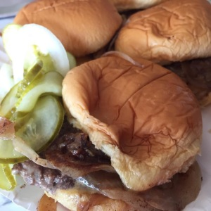 A few of White Manna's famous sliders