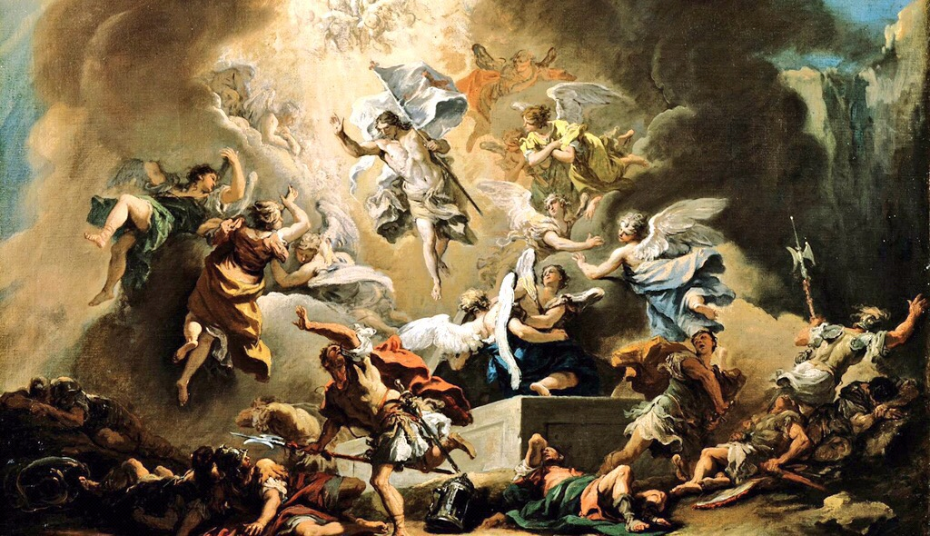 """Sebastiano Ricci's """"The Resurrection"""""""