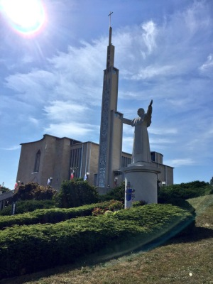 The National Shrine of Our Lady of Częstochowa in Doylestown, PA