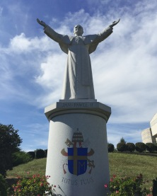 Statue of Pope Saint John Paul II