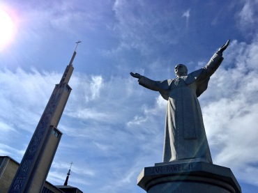 Pope Saint John Paul II and the Bell Tower