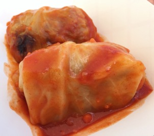 Gołąbki (Stuffed Cabbage)