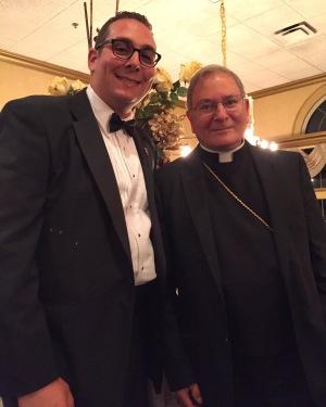Bishop of Paterson Arthur Serratelli & I