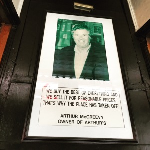 Arthur McGreevy knows how to keep happy diners coming back for more.