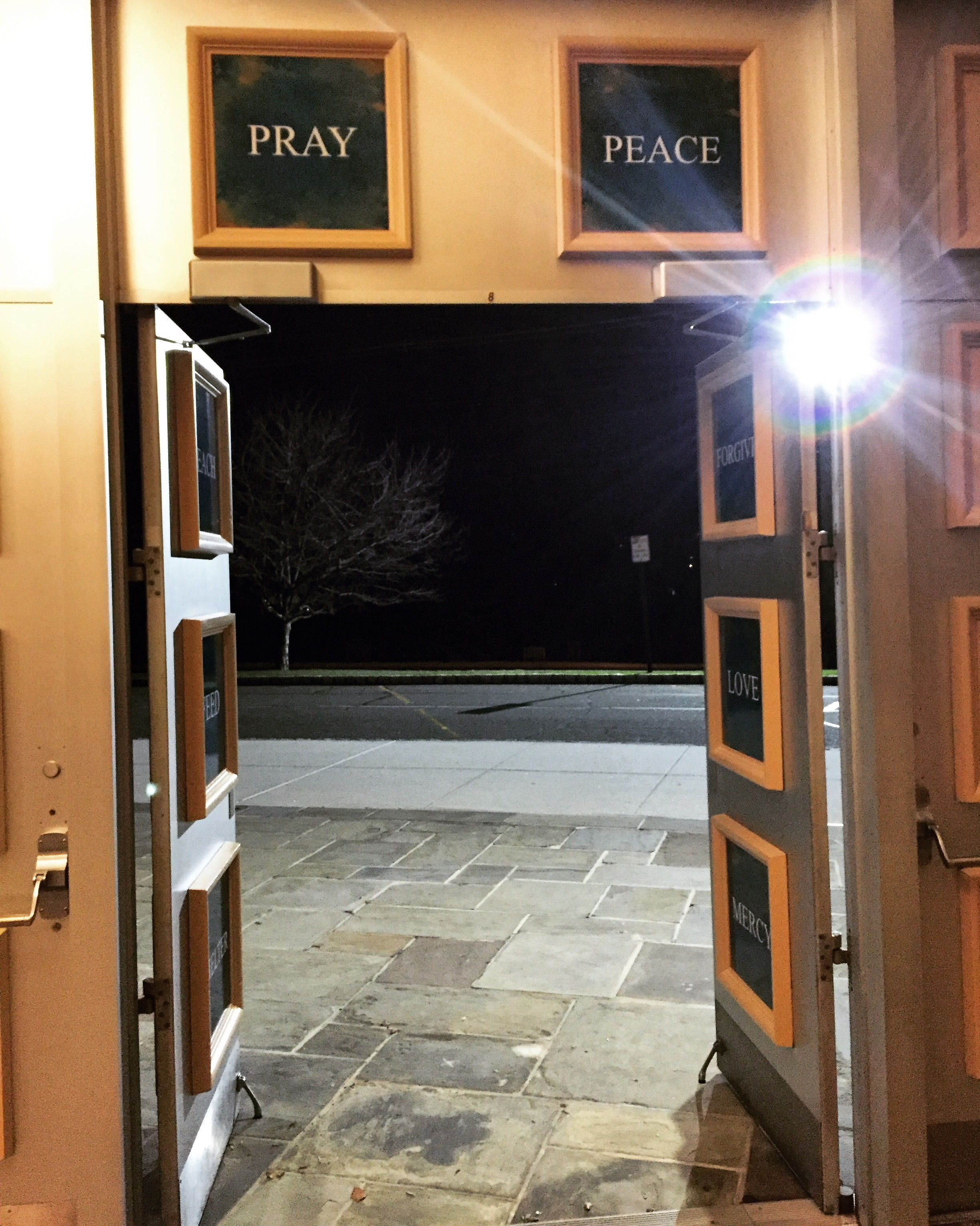 Open Church Doors opening wide the doors of mercy at our lady of mercy catholic
